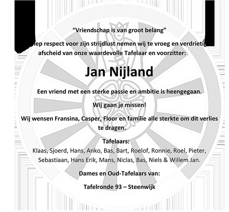 Rouwadvertentie Jan Nijland v3 (krant)64x60mm