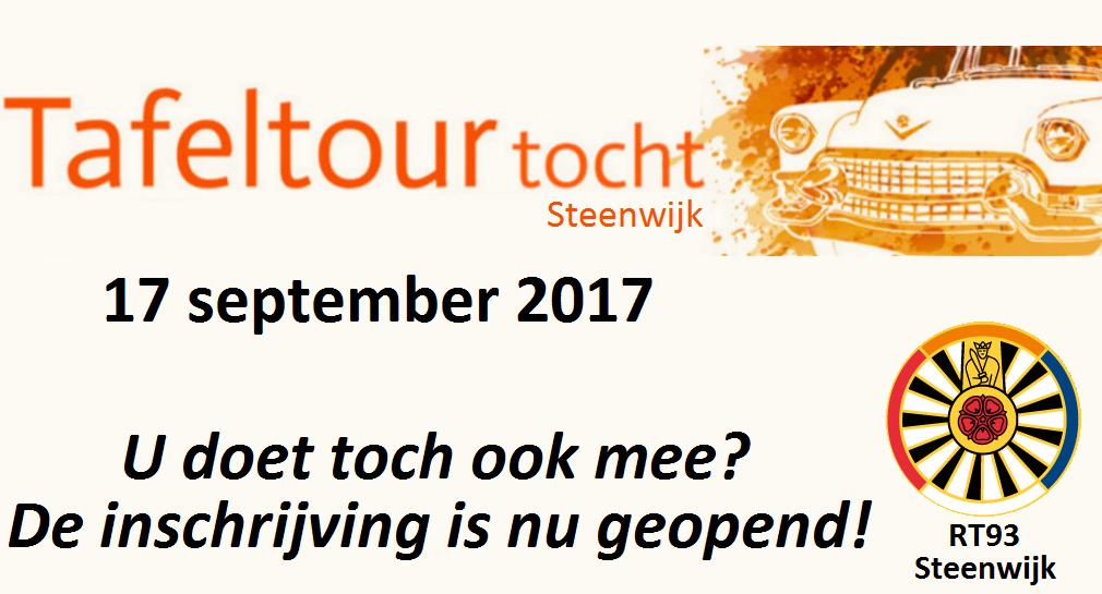 TafelTourTocht2017